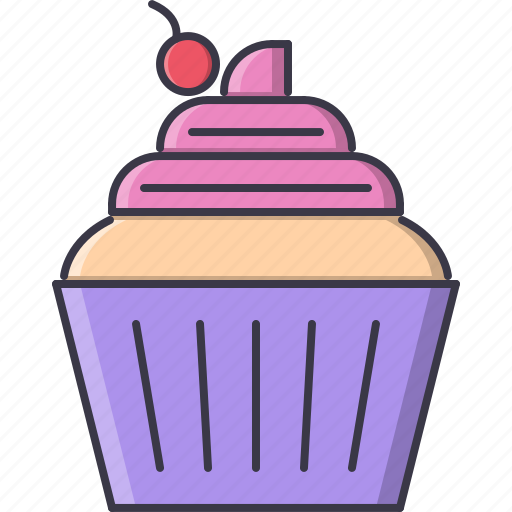 cafe, cake, cream, food, sweet, whipped icon