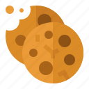 coffee, cookies, food, snack, sweets icon