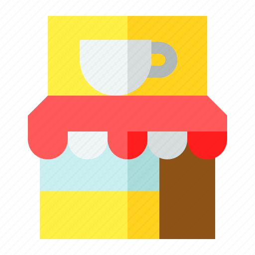 cafe, coffee, shop, store icon