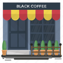 bar, cafeteria, coffee shop, indoor cafe, restaurant icon