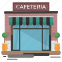 bar, cafeteria, city cafe, family cafe, restaurant, urban cafe icon