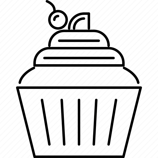 Cafe, cake, cream, food, sweet, whipped icon - Download on Iconfinder