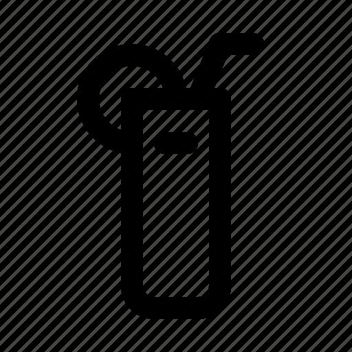 bar, cocktail, diner, food, glass, longdrink, restaurant icon