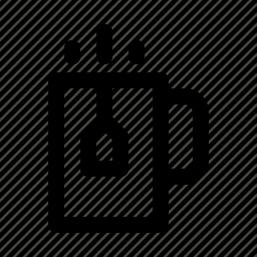 bar, cup, diner, food, pot, restaurant, tea icon