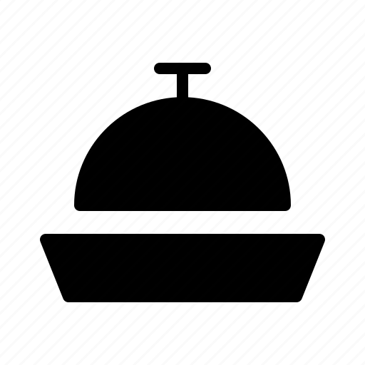 bar, diner, drink, food, gloche, restaurant icon
