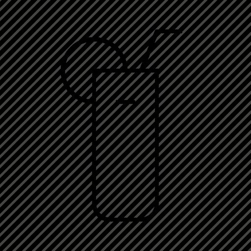 Bar, cocktail, diner, food, glass, longdrink, restaurant icon - Download on Iconfinder