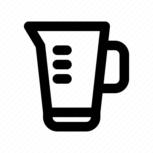 bar, beaker, diner, food, jug, measuring, restaurant icon