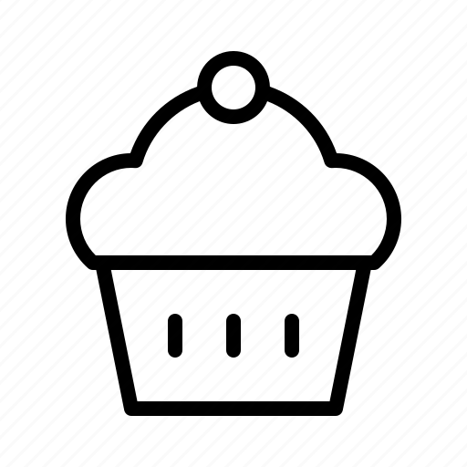 bakery, bar, diner, drink, food, muffin, restaurant icon