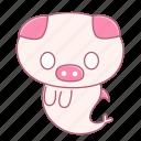 caheo, fish, pig, shock, speechless, surprised