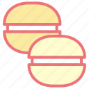 cake, desserts, food, macarons, sweet icon