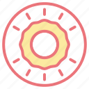 cake, desserts, donut, food, sweet icon