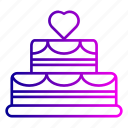 birthday, cake, candles, christmas, desert, dessert, party icon