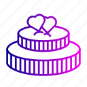 birthday, cake, chocolate, love, romance, romantic, sweet icon
