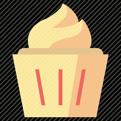 cake, cupcake, desserts, food, sweet icon
