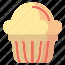 cake, desserts, food, muffin, sweet icon