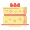 cake, desserts, food, sponge, sweet icon