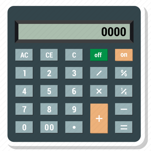 business, calculation, calculator, math, mathematics icon
