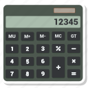 accounting, calculator, finance, math icon