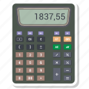 calculation, mathematics, calculator, math icon
