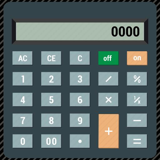 business, calculation, calculator, math, mathematics icon