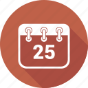 calendar, christmas, date, deadline, event, plan, scheduleday icon