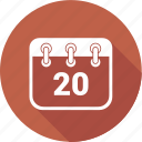 calendar, date, deadline, event, plan, scheduleday icon