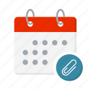 appointment, calendar, date, day, event, month, reminder icon