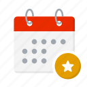 appointment, calendar, day, deadline, event, reminder, time icon