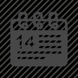 calendar, calender, mount icon