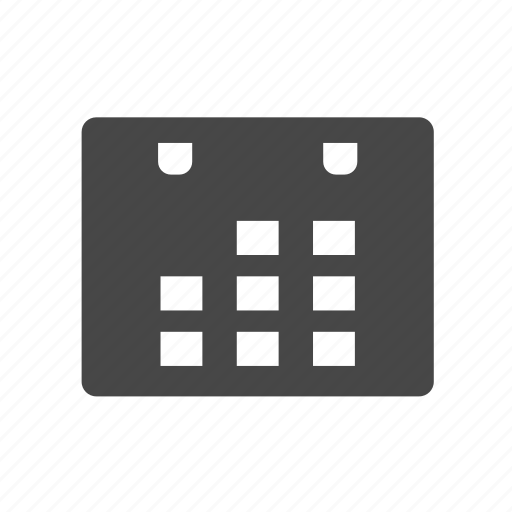 Calendar, date, datepicker, events icon - Download on Iconfinder