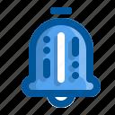 alarmed, bell, clock, alarm, ring icon
