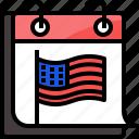 american, calendar, day, event, president, usa
