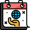 calendar, day, environment, event, global, save, world