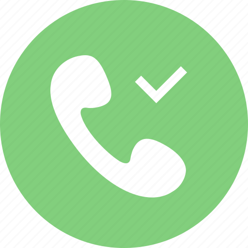 allow call, call, contact, phone, telephone icon