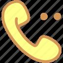 calling, calling options, phone, telephone, wait calling icon