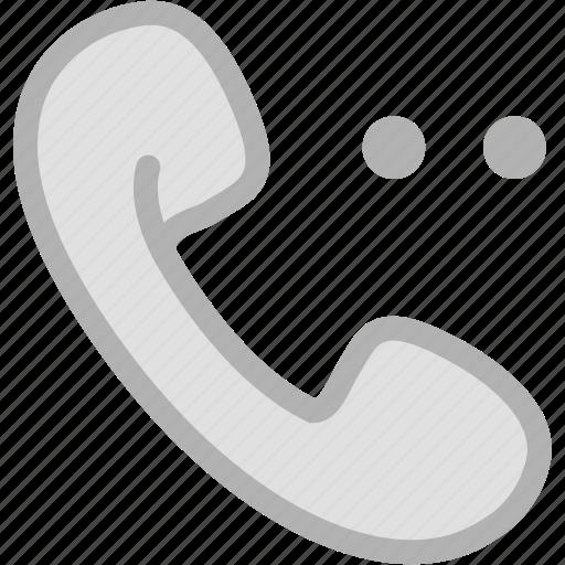 calling, calling options, calling wait, phone, telephone, wait calling icon
