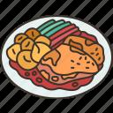cheicken, stew, cambodian, cuisine, food