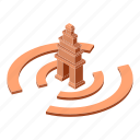 ancient, architecture, cambodia, isometric, logo, object, temple