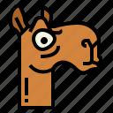 camel, zoo, animal, wildlife, agitated