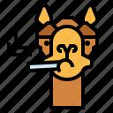 camel, zoo, animal, wildlife, smoking
