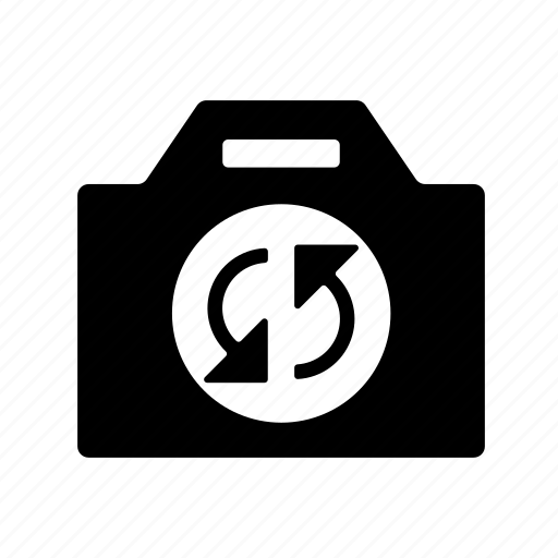 arrows, camera, camera options, film, photo, photo options, refresh, refresh photo, reload, reload photo, take photo, update, update camera, update photo, video icon