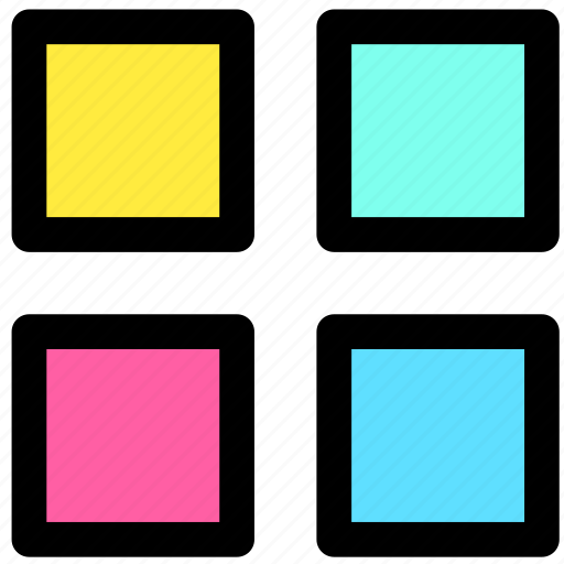 album, menu, navigation icon