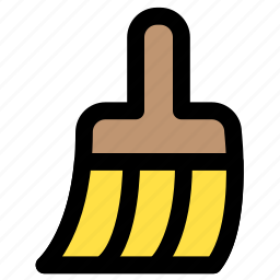 brush, clean, cleaning, painting icon