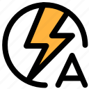 auto flash, camera icon