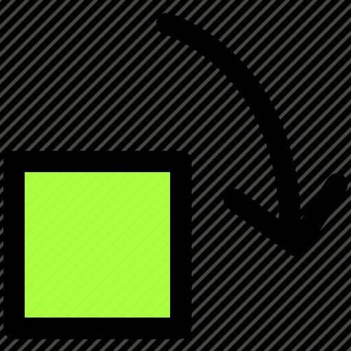 photo, rotation icon
