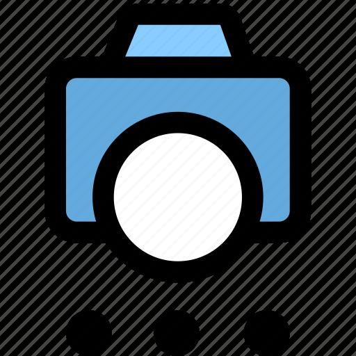 cam, camera, shotting options icon