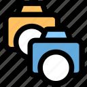 camera, dual camera, photography icon