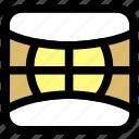 camera, shotting, surround shotting icon