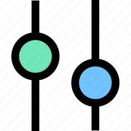 adjustment, screen icon
