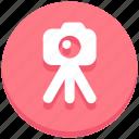 camera, photo, photography, shot, stand icon